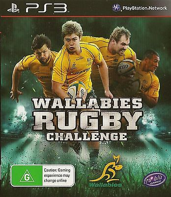 AU7 • Buy Playstation 3 Wallabies Rugby Challenge Ps3 Game