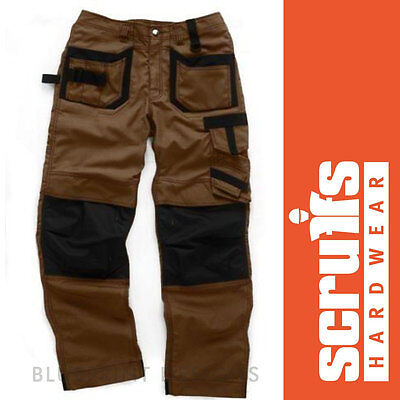 Scruffs Brown Pro Trousers / Work Cargo / Combat Heavy Duty  • 43.99£