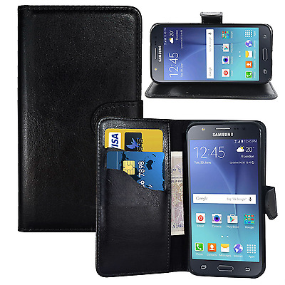 $ CDN5.27 • Buy NEW BLACK WALLET LEATHER GEL CASE WITH CARD SLOT FOR Samsung Galaxy S8 UK SELLER