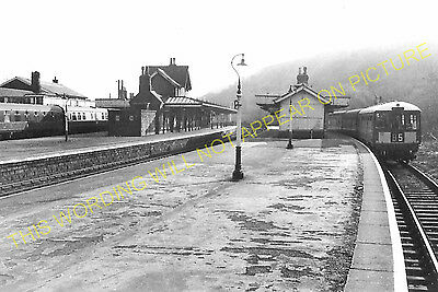 Miller's Dale Railway Station Photo. Peak Forest- Monsal Dale. Chinley Line (18) • 3.50£