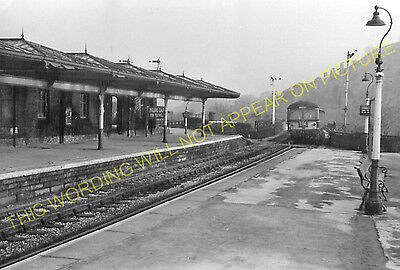 Miller's Dale Railway Station Photo. Peak Forest - Monsal Dale. Chinley Line (22 • 3.50£
