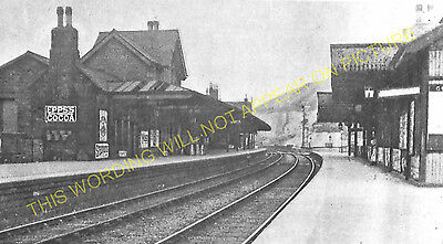 Miller's Dale Railway Station Photo. Peak Forest- Monsal Dale. Chinley Line (17) • 3.50£