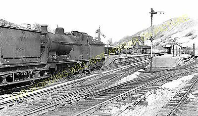 Miller's Dale Railway Station Photo. Peak Forest - Monsal Dale. Chinley Line (2) • 3.50£