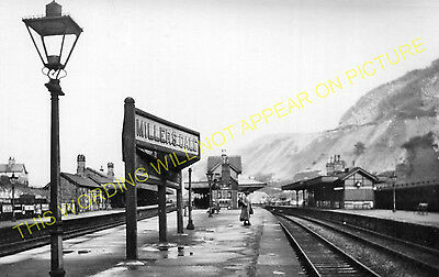 Miller's Dale Railway Station Photo. Peak Forest- Monsal Dale. Chinley Line (16) • 3.50£