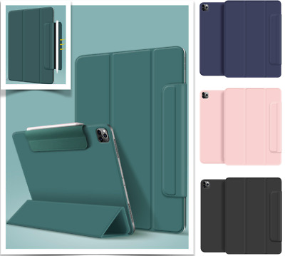 AU24.99 • Buy Magnetic Year 2020 IPad Pro 12.9 Inch Pro 11 Inch Smart Cover Pencil Holder Case
