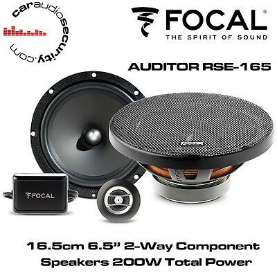 FOCAL RSE165 - AUDITOR 16.5cm 6.5  2 Way Component Car Speakers 200W Total Power • 89.99£
