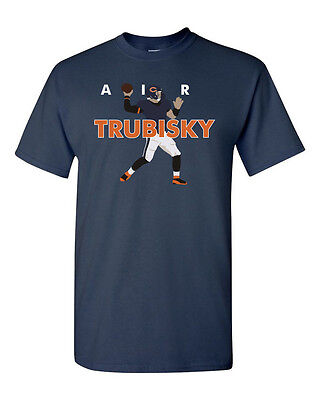Mitchell Trubisky Chicago Bears  Air  Jersey T-shirt Shirt Or Long Sleeve • 10£