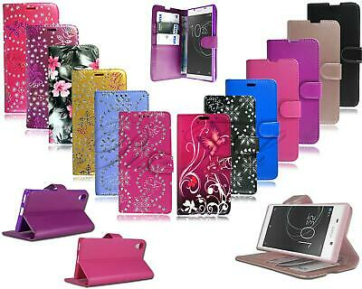 AU8.94 • Buy For Sony Xperia XA1 G3121 New Stylish Leather Flip Wallet Phone Case Cover