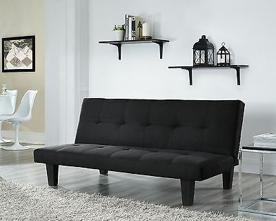 Fabric 3 Seater Sofa Bed Faux Suede Fabric Sofabed Teal Black Taupe Grey Red • 104.99£