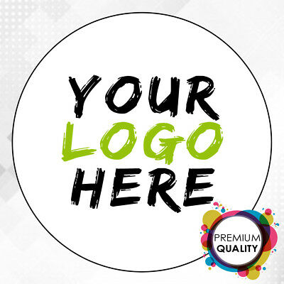LOGO Printed Round Stickers - Custom Logo Labels - Postage Labels -Personalised  • 14.99£
