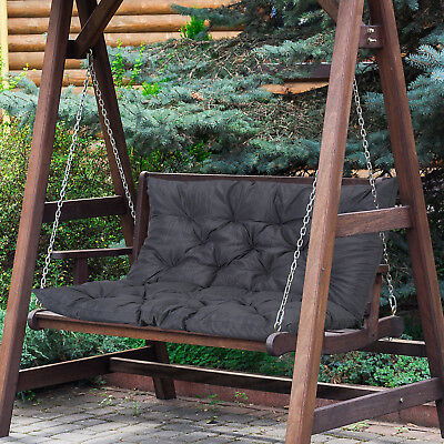 £27.99 • Buy Outsunny 2 Seater Garden Bench Swing Chair Replacement Seat Pad Cushion Backrest