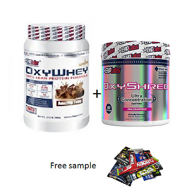 AU114.90 • Buy Ehplabs Oxywhey Protein Oxy Whey & Ehplabs Oxyshred  Weight Loss Combination.