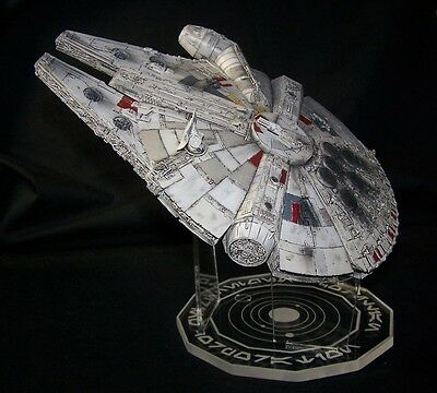 $20.99 • Buy Acrylic Display Stand For 1/144 Millennium Falcon Bandai Or Fine Molds Star Wars
