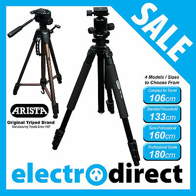 AU30.95 • Buy Arista Original Brand Camera Tripod Series SLR DSLR D-SLR Video Mobile Brand New