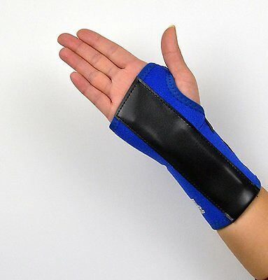 Wrist Support BLUE Brace Splint For Carpal Tunnel & RSI Injury NHS Use • 5.49£