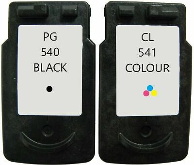 Refilled Ink For Canon PG 540 Black And CL 541 Colour Cartridges Pixma MG3350 • 24.16£