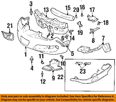 $68.92 • Buy Pontiac GM OEM 98-02 Firebird Front Bumper-Outer Support Right 10278911