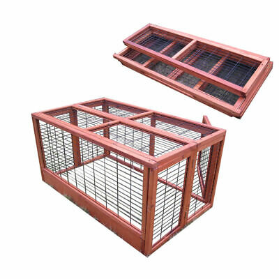 £69.99 • Buy 4ft Large Rabbit Hutch Run / Guinea Pig / Deluxe Pet Hutches / Cage Pets