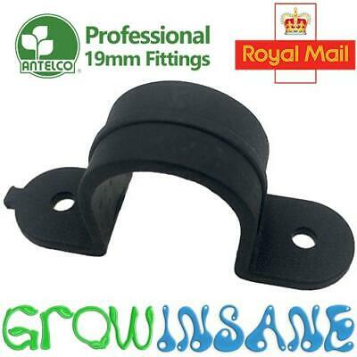 Saddle Clamp Clip - 19mm LDPE Pipe Tube Hose Garden Irrigation Tidy Professional • 4.75£