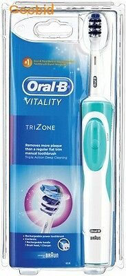 AU38.99 • Buy Braun Oral B Vitality Trizone Rechargeable Electric Toothbrush - New & Sealed