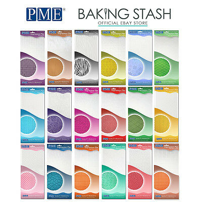 PME Impression Mats For Pattern Embossing & Raised Designs - All Designs • 3.49£