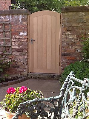 """£1950 • Buy Handcrafted Solid European Oak Garden Gate And Posts Bespoke Size 42"""" X 72"""" Max"""