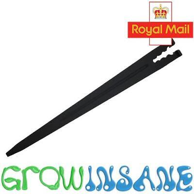 Micro Garden Irrigation Stake Hold Down Spike Supports Up To 9mm Tubing Pipe • 1.49£