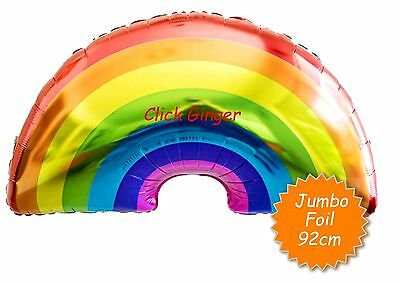 AU3.95 • Buy Rainbow Jumbo Helium Foil Balloon Unicorn My Little Pony