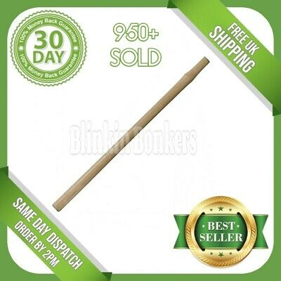 £8.19 • Buy 34  Sledge Hammer Handle Solid Wooden Wood Universal Heavy Duty Long Spare Shaft