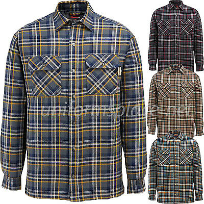 Wolverine Flannel Jacket Mens Forester Plaid Shirt Jackets Lined Shirt W1200440 • 30.88£