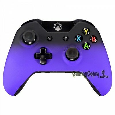 Shadow Purple Front Housing Shell Case Cover For Xbox One Controller W/3.5 Mm • 6.99$