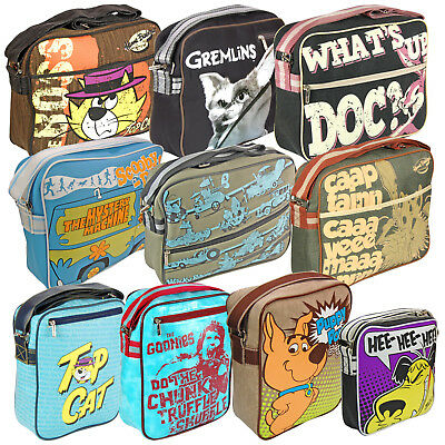 Cool Retro Bag. Officially Licensed Looney Tunes Hanna-Barbera Gremlins Gift • 14.95£