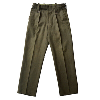 £12.45 • Buy Trousers Royal Marines Mens RM Light Weight Lovat Barrack Olive Pants British