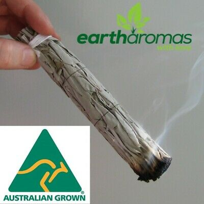 AU17.50 • Buy 2nd Quality - White Sage Smudge Stick - Australian Grown - Organic - Clearing