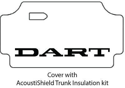 $247 • Buy 1967 1969 Dodge Dart Trunk Rubber Floor Mat Cover With MA-015 Dart