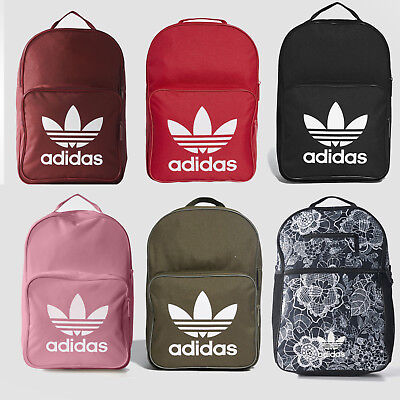 65fbb8480e6d Adidas Originals Trefoil Logo Backpack Classic Bookpack School Bag New •  39.99