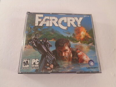 AU18.93 • Buy Far Cry PC Video Game 2004 Jewel Case 5 Discs Manual Mature Shooter