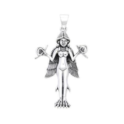 $ CDN87.74 • Buy Oberon Zell Goddess Lilith .925 Sterling Silver Pendant Peter Stone Fine Jewelry