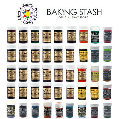 Sugarflair Spectral Paste - Concentrated Edible Food Colouring Gel Paste - 25g • 4.49£