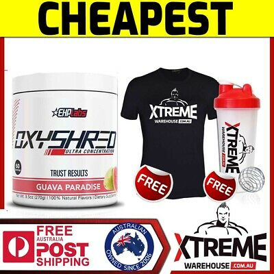 AU69.90 • Buy Ehp Labs Oxy Shred 60 Srv // Ehplabs Fat Burner Weight Loss Oxyshred Thermogenic