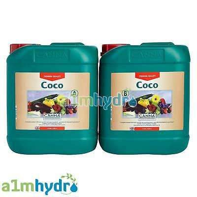 £44.95 • Buy Canna Coco A+B 5 Litre Veg And Flower Plant Food Base Nutrients Hydroponics