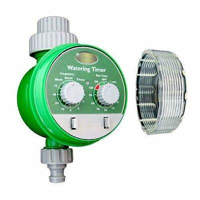 Automatic Electronic Water Garden Hose Watering Timer Irrigation System Plant • 17.95£