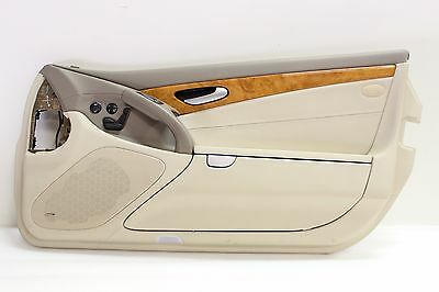 $450 • Buy R230 Mercedes Front Passenger Right Side Door Panel Cover Leather Trim SL-Class