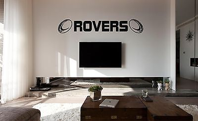 £6.80 • Buy HULL KR (Rovers) Rugby Wall Art Sticker, Decal, Flat Surfaces, Car Vinyl,Glass