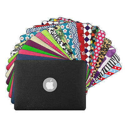 $19.69 • Buy For MacBook Pro 15 A1398 Slim Lightweight Case Leather Coated Plastic Hard Cover