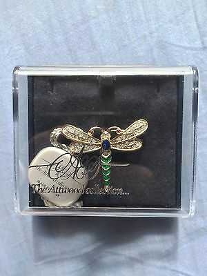 £30 • Buy The Attwood Collection Dragonfly Brooch, Enamelled With Swarovski Crystals