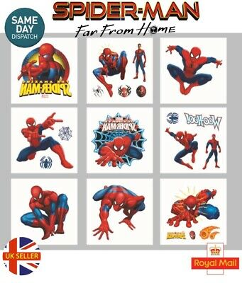 £3.99 • Buy 25 Childrens Spiderman Temporary Tattoos Kids Loot Party Bag Fillers Boys Girls