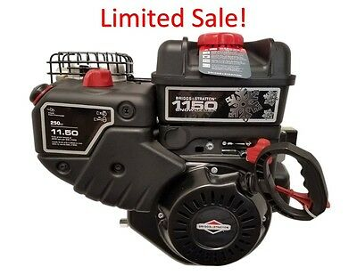 $209 • Buy 15C107-0040 11.5 Briggs And Stratton Snow Engine 3/4  X 2-5/16  Formerly 8HP