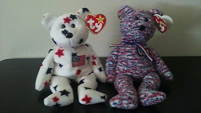 $100 • Buy Beanie Baby With Many Errors Glory & USA Retired  $100.00