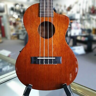 AU249 • Buy Mahalo Java Series Cutaway Electric Tenor Ukulele With Aquila Strings And Bag